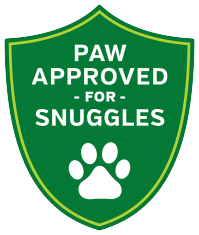 Paw-Approved For Snuggles Seal